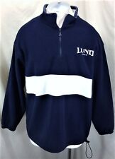 Lund Fishing Boats Pullover 1/4 Zip Up (XL) Outdoorsman Fleece Jacket Blue