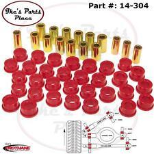 Prothane 14-304 Rear Upper & Lower Control Arm Bushings-Pair Fits 240sx -89-94