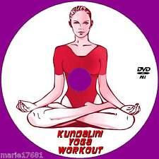 KUNDALINI YOGA MEDITATION WORKOUT DVD FLEXIBILITY STRESS TONE RELAXATION NEW