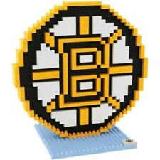 Boston Bruins BRXLZ Team Logo 3-D Puzzle Construction Toy New - 752 Pieces