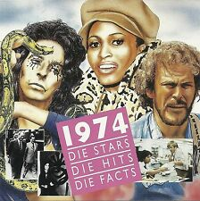 (CD) Die Stars Die Hits Die Facts 1974 - Terry Jacks, Carl Douglas, The Rubettes