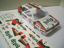 Decals / Calcas al agua escala 1/32 Lancia Integrale HF Totip Rally Italia 1988