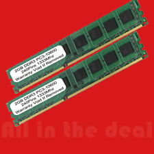 4GB Kit 2x 2GB DIMM DDR3 Desktop 10600 1333MHz 1333 240pin Ram Memory