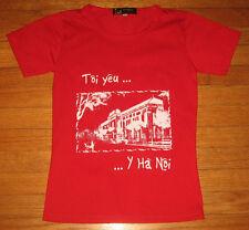 NEW, I LOVE HANOI VIETNAM, Tôi yêu Hà Nội - Women's Size Medium,  Famous Verse