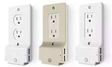Xtreme Outlet Wall Plate Cover with Built-in LED and 2 USB Ports (Style Options)