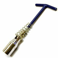21mm Bougie souple dépose clé à douille de clé à tête pivotante T-Bar Sil112