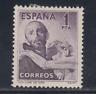 ESPAÑA (1950) NUEVO CON FIJASELLOS MLH -EDIFIL 1070 (1 pts) SAN JUAN DIOS LOTE 3