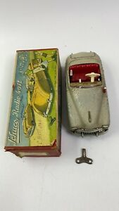 Vintage Schuco Car Radio 4012 In Beige-Works great and in original box w/ manual