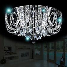 XL LED Deckenlampe Kristall Leuchter Kronleuchter Deckenleuchte Fernbedienung