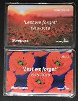 Vancouver Commemorative Compass Card Set - 100th Remembrance Day