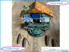 Bradford Editions 'Memories of Steam' Flying Scotsman cuckoo clock - SAFE POST