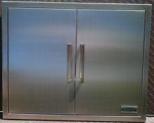 """39"""" DOUBLE WALLED ACCESS DOOR 16 GAUGE OUTDOOR KITCHEN BBQ 304 STAINLESS STEEL"""