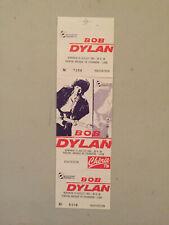 Bob Dylan Rare Picture Concert Ticket Stub 7-16-1993 Lyon