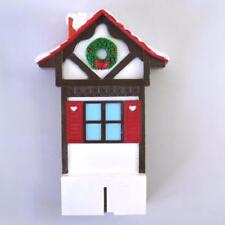 1992 Mr Christmas Santa's Ski Slope Replacement Upper Ski House