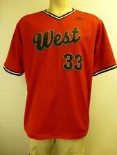 Nike #33 West reversible basketball shooting jersey Shirt mens sz Medium Small ?