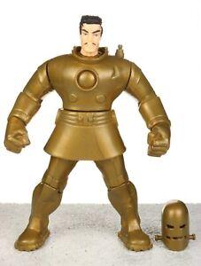 "Marvel The Avengers Golden Age IRON MAN 5"" Box Set Action Figure ToyBiz 1999"