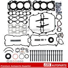 Full Gasket Bolt Set + Sealant for Nissan Infiniti FX35 G35 M35 350Z 3.5 VQ35DE