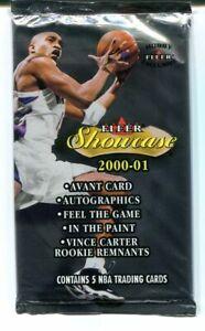 2000-01 Fleer Showcase Hobby Pack UNOPENED Possible KOBE BRYANT