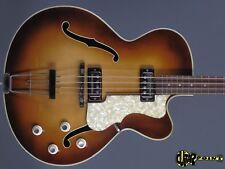 1964 höfner 500/5  Bass -Sunburst - Single cutaway  Stucliffe style MINTY & RARE