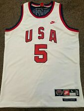 Vintage Rare Doug Collins USA Basketball Olympic Jersey Gold Medals Size Mens L