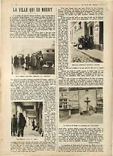 Camions Militaires Habitants Marché de Reims Champagne France 1918 WWI