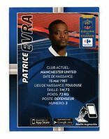 Carte Carrefour Foot 2014 n° 6/24 - Patrice EVRA   (A5317)