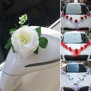 Cars Wedding Kit Organza Flower Ball Ribbon Bows Garland Wrap Party Home Decor