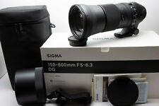 Sigma 150-600mm Contemporary Zoom Lens *nr MINT & BOXED!* | CANONT FIT!  #3488