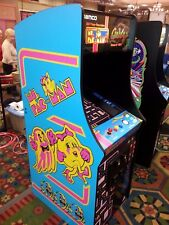 "New Ms Pacman Galaga Pacman 27"" LCD monitor  upright video arcade game"