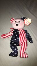 "*RARE* Original Ty Beanie Baby ""Spangle"", Pink Face. *ERRORS*"