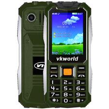 "Vkworld V3S 2.4"" Quad Band Unlocked Phone SPRD6531 Camera Bluetooth FM Dual SIM"