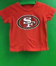 B310/80 NFL San Francisco 49ers T-Shirt Toddler 2T Cute!
