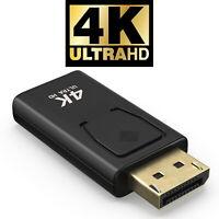 4K DP Displayport HDMI Adapter mit Audioübertragung 2160P 4096x2160 Goldkontakte