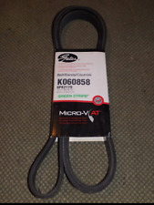 Gates K060858 Serpentine Belt-Premium OE Micro-V Belt GREEN STRIPE
