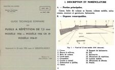 Fusils a Repetition 1969 de 7.5mm M1936 et Cr39 et 1936-51 French