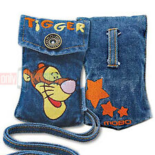 Disney TIGGER Universal Jean Pouch Case for Flip Phones iPhone 5S/SE MP3 iPod