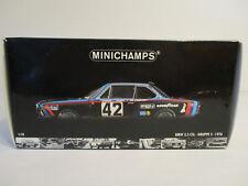 (Gol) 1:18 Minichamps BMW 3.5 CSL 24 H LE MANS 1976 neuve neuf dans sa boîte