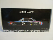 ( GOL ) 1:18 Minichamps BMW 3.5 CSL 24h Le Mans 1976  NEU OVP