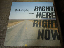 """Fatboy Slim Right Here Right Now RARE 12"""" Single"""