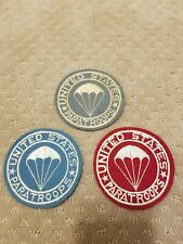 Original WW2 USParatroops Patches.