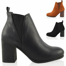 Block Heel Pull On Synthetic Shoes for Women