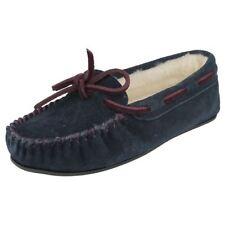 36 Pantofole da donna in camoscio