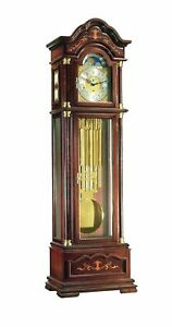 Grandfather clock walnut from Hermle HE 01131-031171 NEW