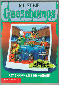 GOOSEBUMPS, SAY CHEESE AND DIE - AGAIN! #44, VGC, LOOKS UNREAD.
