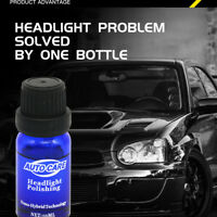 9H Liquid Car Headlight Lens Lamp Restoration Repair Kit Ceramic Coat Cleaner