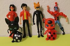 Miraculous Ladybug 6 PCS Action Figures Doll Toys