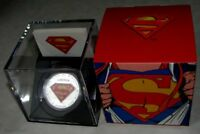 Royal Canadian Mint 75th Anni 1 oz $20 Fine Silver Coin Superman S-shield 2013