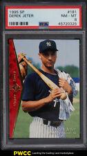 1995 SP Derek Jeter ROOKIE RC #181 PSA 8 NM-MT (PWCC)