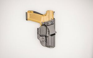 Hybrid Armory Capsule Pro with Claw, IWB Tactical Holster, Right Hand, Carbon