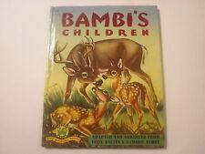 Bambi's Children, Felix Salten, William Bartlett, Wonder Books, 1950